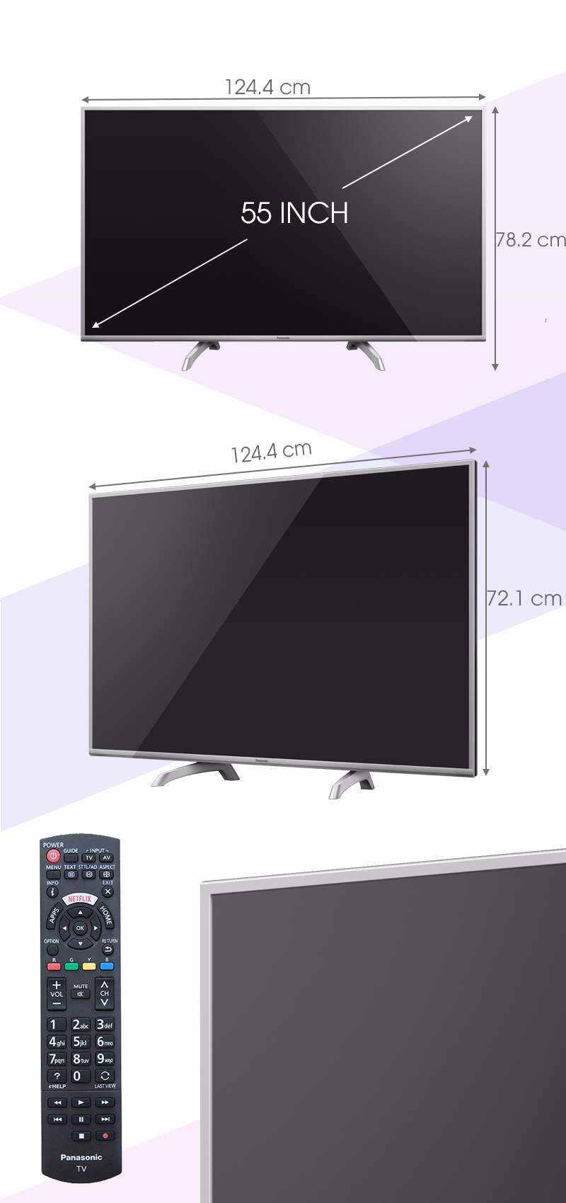 Smart Tivi Panasonic 55 inch TH-55DS630V