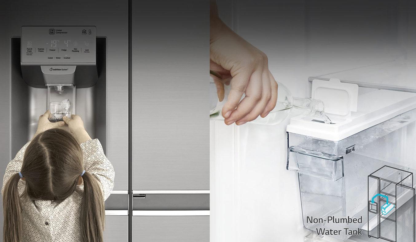 Tủ lạnh SBS LG GR-D247JS 601 lít