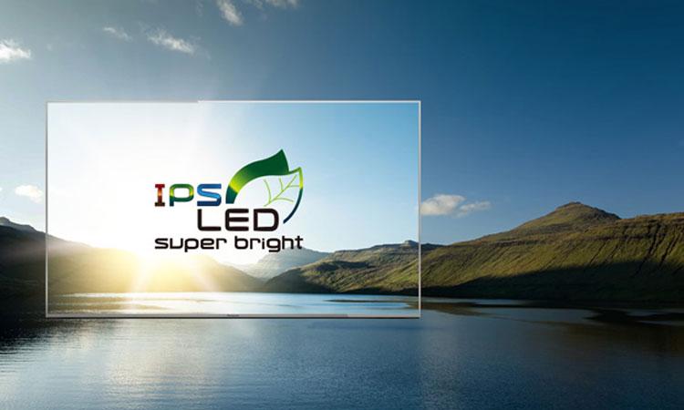 Trải nghiệm màn hình IPS siêu sáng