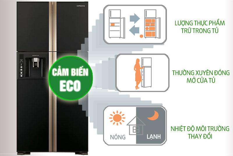Giới thiệu tủ lạnh Hitachi R-W660FPGV3X GBK