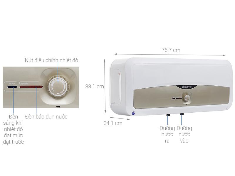bình nước nóng Ariston SL 30 ST 2.5 FE - MT 30 Lít