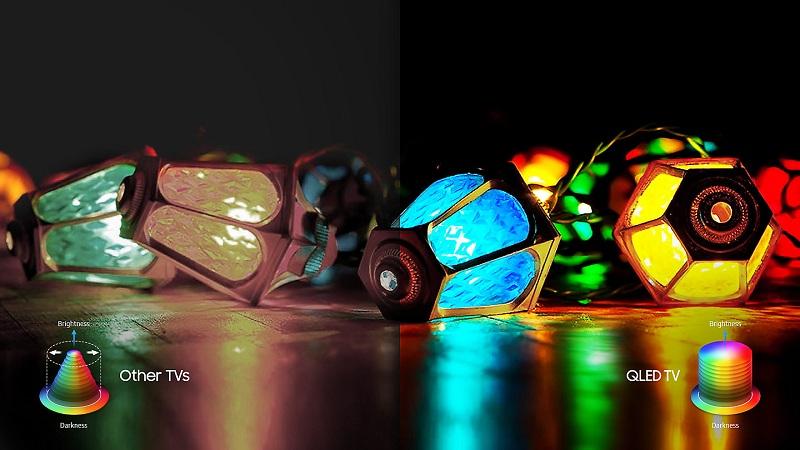 Công nghệ Q Color cho màu sắc tươi đẹp