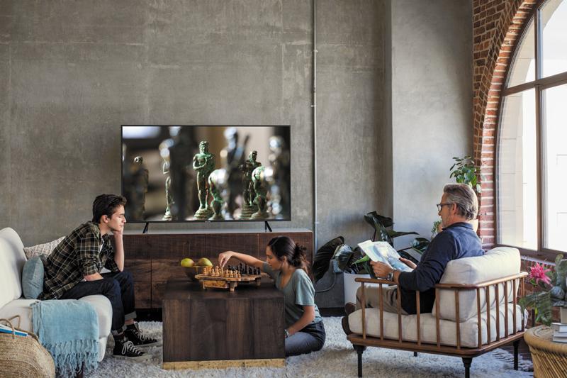 Smart Tivi Samsung 4K 55 inch UA55NU7100