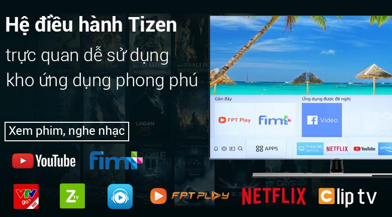 hệ điều hành Smart Tivi Samsung 4K 75 inch UA75NU8000