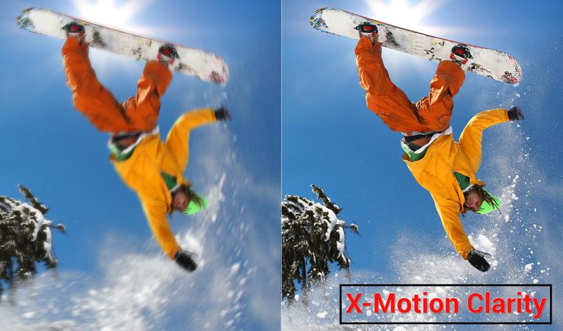 Công nghệ X-Motion Clarity trên Android Tivi Sony 4K 65 inch KD-65X9000F