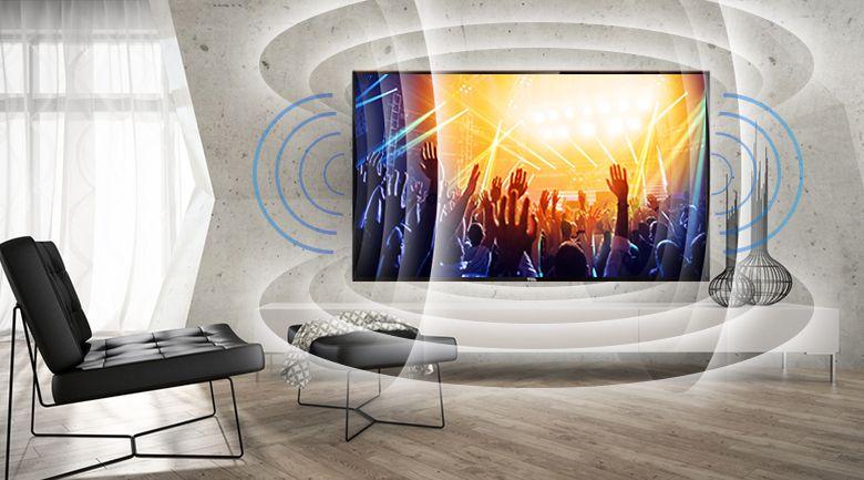 TCL cung cấp chất lượng âm thanh sống động nhờ công nghệ Dolby MS11