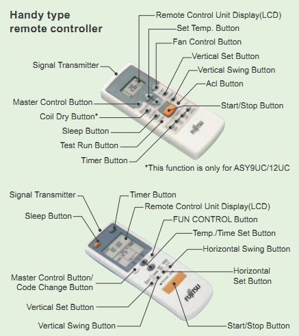 Điều hoà FUJITSU ASAG09LLTB-V có nhiều chức năng thông minh.