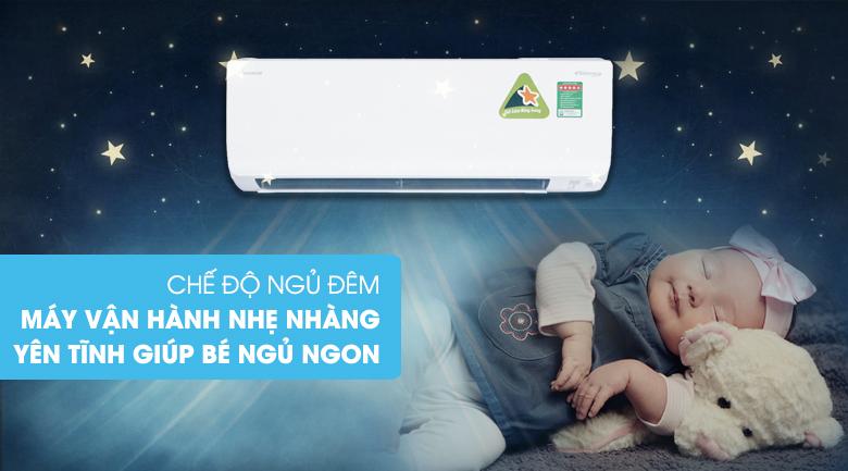 Chế độ ngủ đêm - Điều hòa 2 chiều Daikin Inverter 8500 BTU FTHF25RAVMV