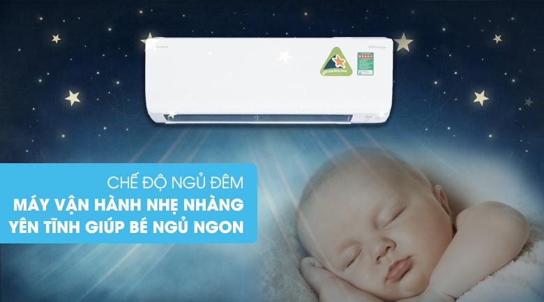 Chế độ ngủ đêm - Điều hòa 2 chiều Daikin Inverter 11900 BTU FTHF35RAVMV