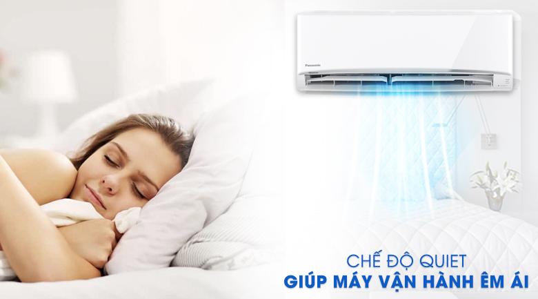 Thổi gió dễ chịu - Điều hòa 2 chiều Panasonic 9000 BTU CU/CS-YZ9UKH-8