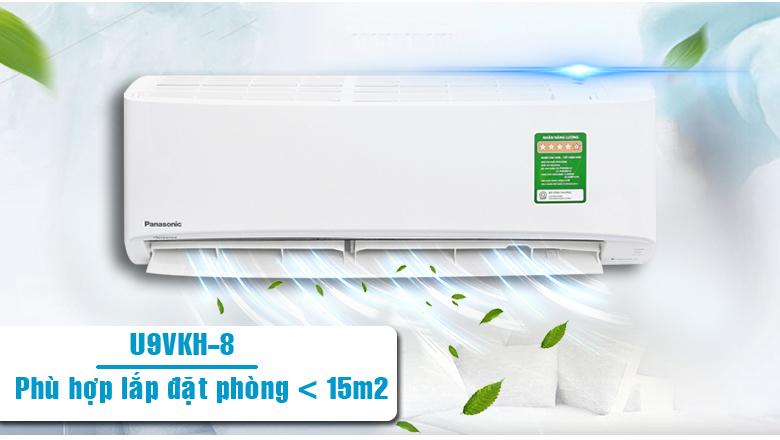 Điều hòa Panasonic inverter CU/CS-U9VKH-8 được thiết kế hiện đại