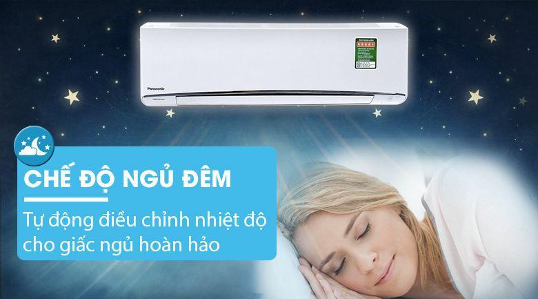 Điều hòa Panasonic Inverter CU/CS-U9TKH-8 Chế độ ngủ đêm bảo vệ sức khoẻ