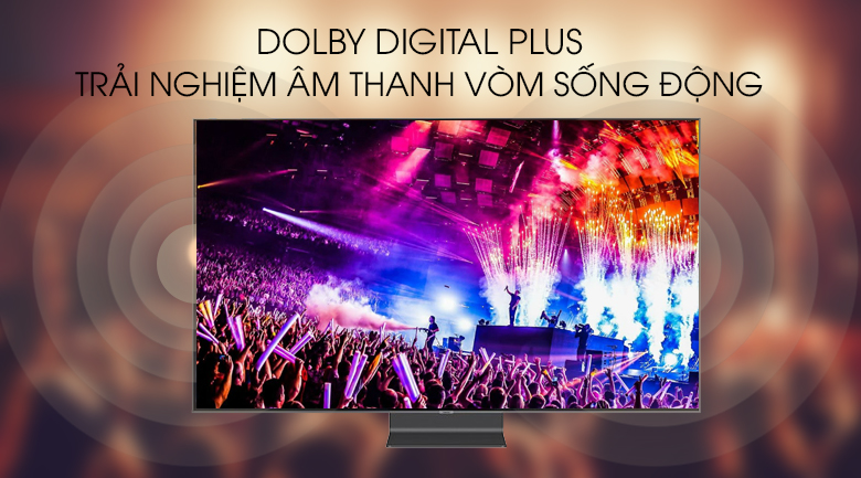 Smart Tivi QLED Samsung 4K 65 inch QA65Q90R - Dolby Digital Plus