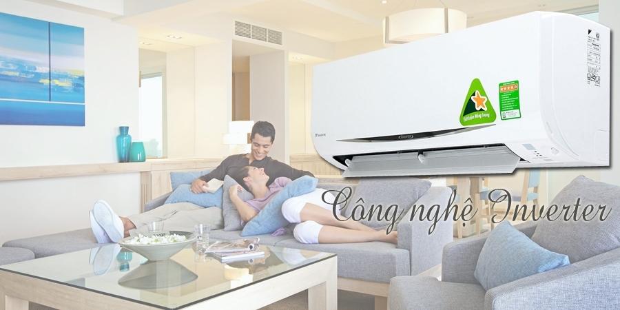 Máy lạnh inverter tiết kiệm điện năng hiệu quả
