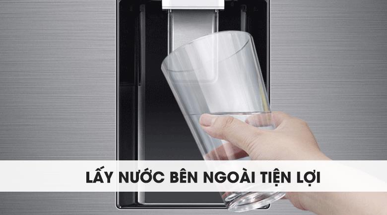 Tủ lạnh Samsung 2 cửa - Trang bị hộc lấy nước bên ngoài tiện lợi, tiết kiệm điện