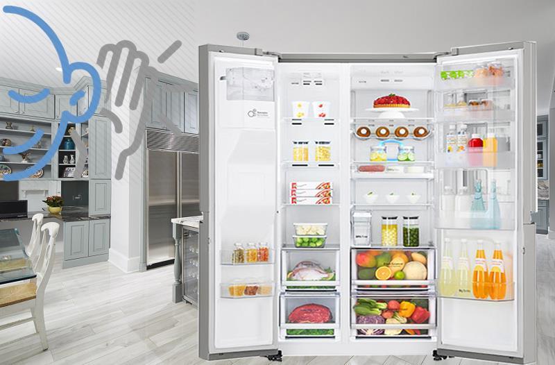 Tủ lạnh Samsung làm đá tự động - Hệ thống chuông báo động thông minh