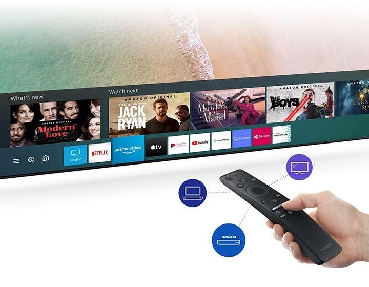 Truy Cập Đa Dạng Nội Dung Từ Một Điều Khiển - Tivi Samsung 4K