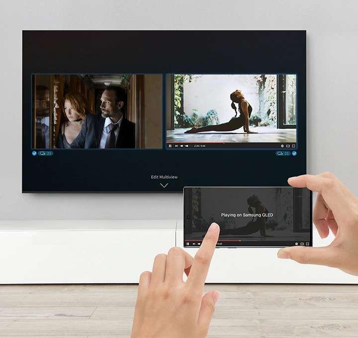 Theo Dõi Nhiều Nội Dung Cùng Một Lúc - Tivi Samsung 4K 55 inch