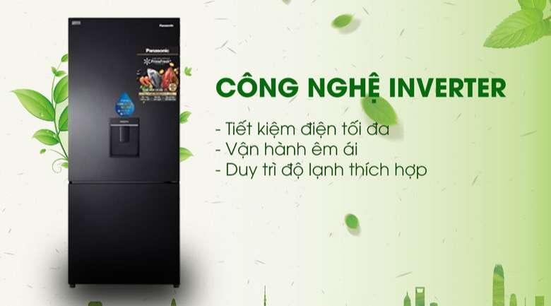 Inverter Tủ lạnh Panasonic Inverter 410 lít NR-BX460WKVN