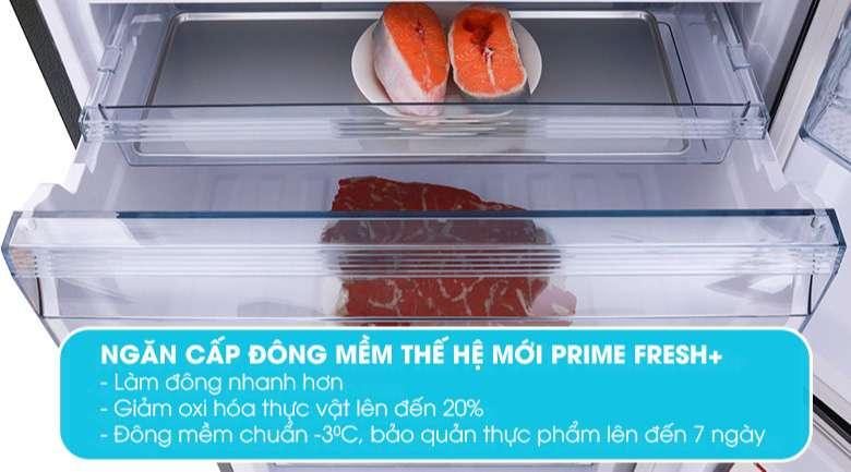 Ngăn cấp đông mềm Tủ lạnh Panasonic Inverter 410 lít NR-BX460WKVN