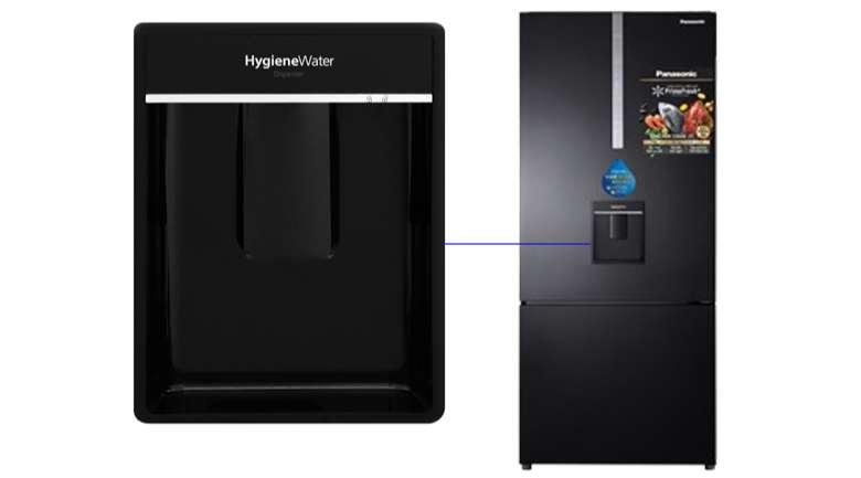 Ngăn lấy nước ngoài Tủ lạnh Panasonic Inverter 410 lít NR-BX460WKVN