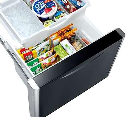 Tủ lạnh Hitachi inverter - Ngăn Đá Hai Tầng