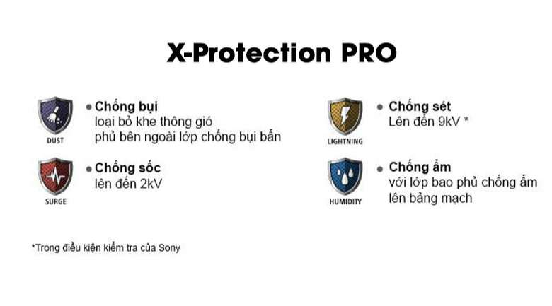 Android Tivi Sony 4K 49 inch KD-49X7500H - X-Protection PRO