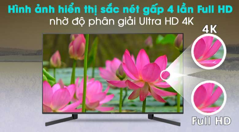 Android Tivi Sony 4K 49 inch KD-49X9500H - Ultra HD 4K