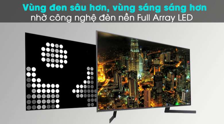 Android Tivi Sony 4K 49 inch KD-49X9500H - Full Array LED và X-tended Dynamic Range™ PRO
