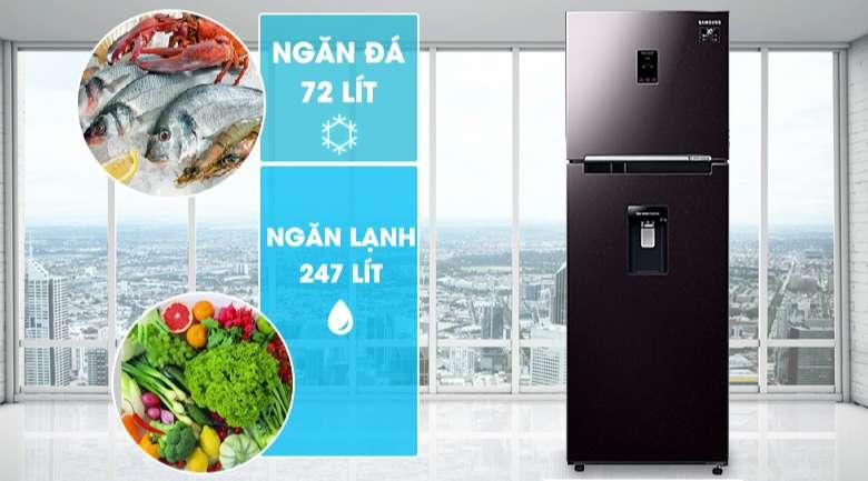 Tủ lạnh Samsung Inverter 319 lít RT32K5932BY/SV - Dung tích