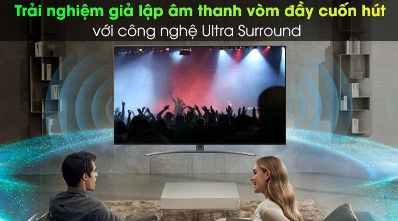 Smart Tivi NanoCell LG 4K 55 inch 55NANO86TNA - Công nghệ Ultra Surround