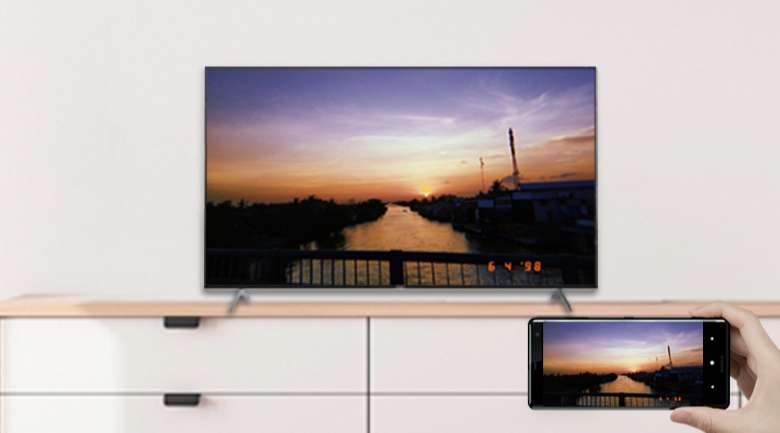 Chromecast và AirPlay 2 - Android Tivi Sony 4K 65 inch KD-65X9000H