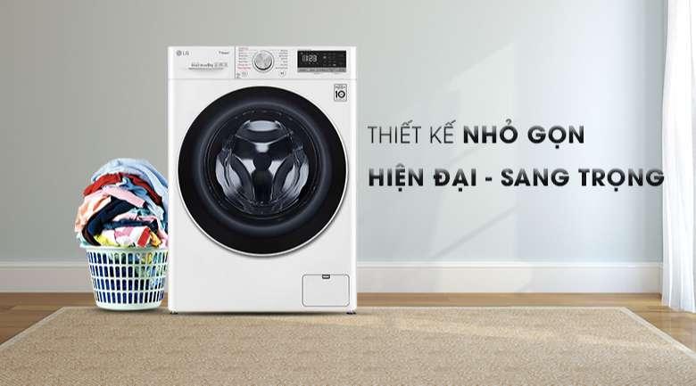 Máy giặt sấy LG Inverter 8.5 kg FV1408G4W | Thiết kế