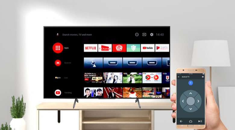 Android Tivi Sony 4K 85 inch KD-85X8000H - Android TV