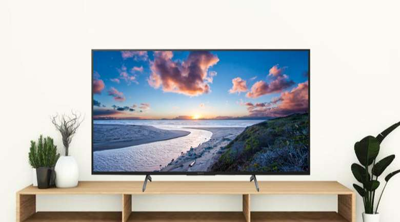 Android Tivi Sony 4K 85 inch KD-85X8000H - Thiết kế gọn đẹp