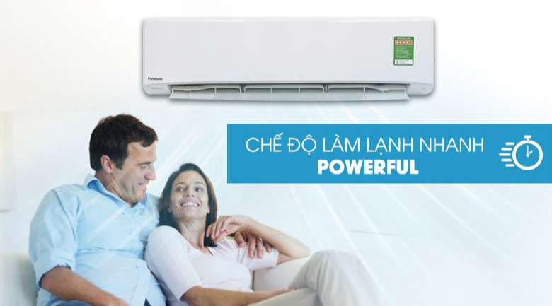 Powerful - Điều hòa Panasonic Inverter 24000 CU/CS-PU24UKH-8