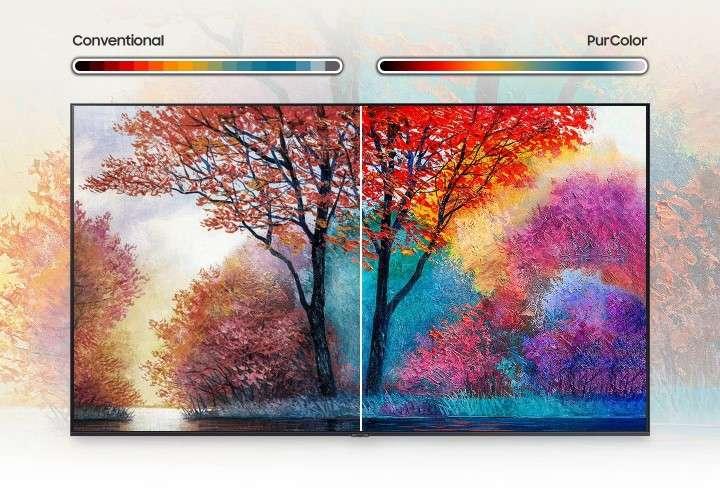 Smart Tivi Samsung 4K 43 inch UA43AU7000 - PurColor