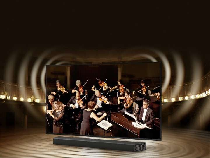 Smart Tivi Samsung 4K 43 inch UA43AU7000 - Công Nghệ Q-Symphony