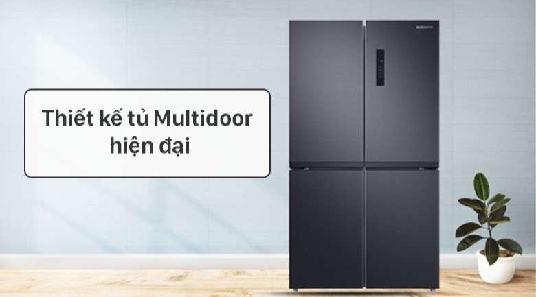 Tủ lạnh Samsung Inverter 488 lít RF48A4000B4/SV - Thiết kế hiện đại