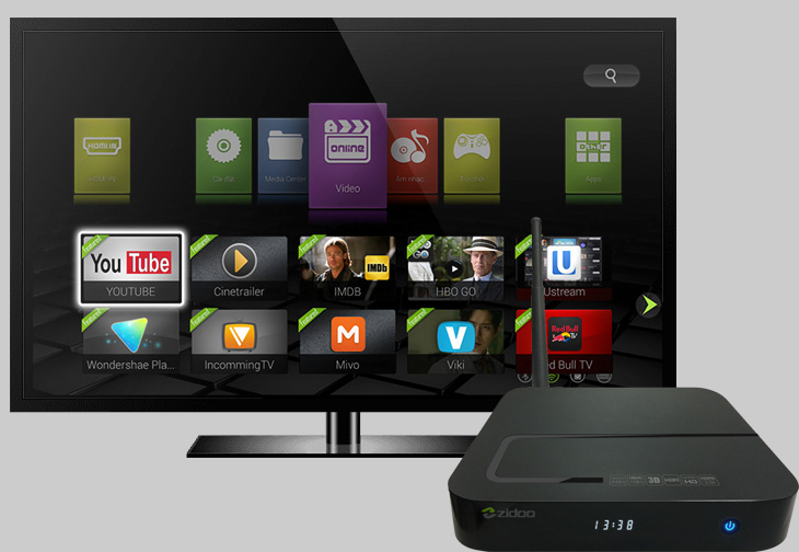 nên mua Smart Tivi hay Tivi thường kèm theo Android Tivi Box