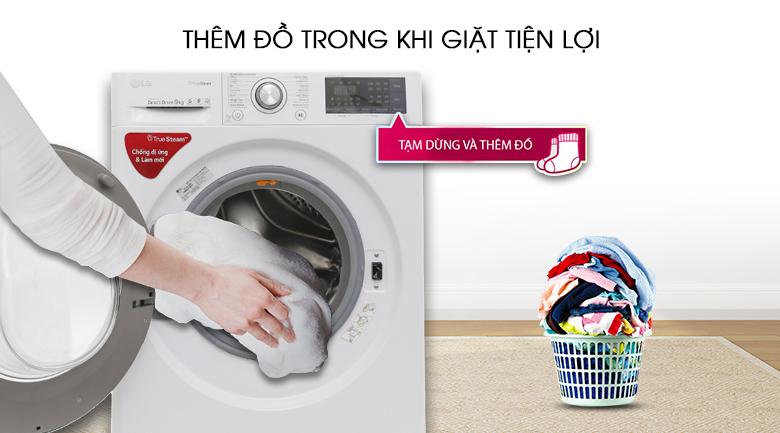 Dễ dàng thêm đồ giặt